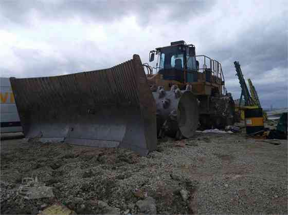 USED 2005 CAT 836H Landfill Compactor Austin, Texas