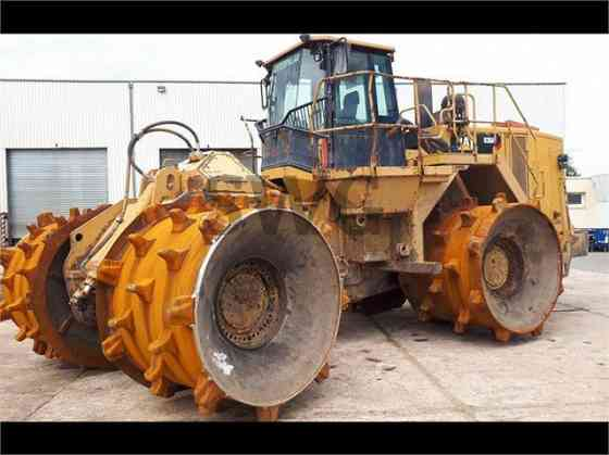 USED 2012 CAT 836H Landfill Compactor Austin, Texas