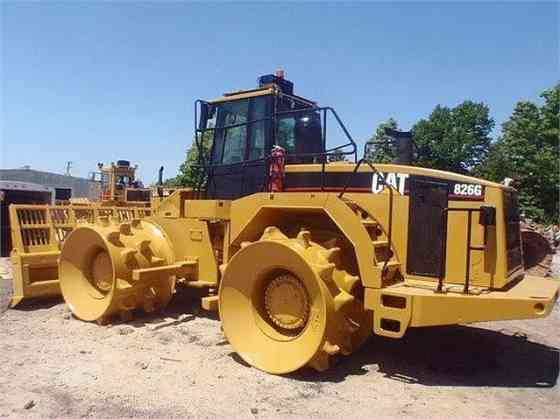 USED CAT 826G Landfill Compactor Parma