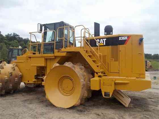 USED CAT 836H Landfill Compactor Parma