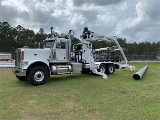 USED 2019 PETERBILT 389 Grapple Truck Lake Worth