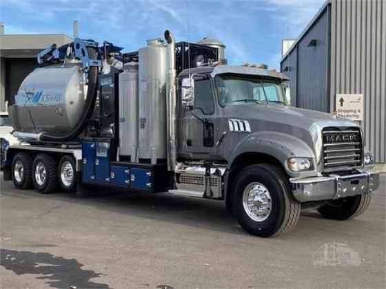 USED 2020 MACK GRANITE 64FR Vacuum Truck Fort Worth