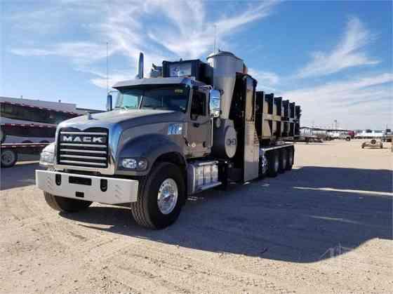 USED 2018 MACK GRANITE GU714 Vacuum Truck Fort Worth