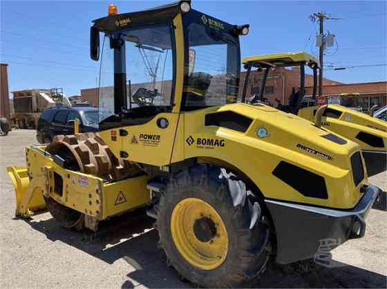 USED 2018 BOMAG BW177PDH-5 Compactor Denver