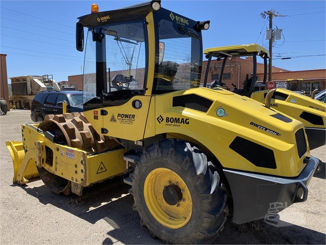 USED 2018 BOMAG BW177PDH-5 Compactor Denver - photo 2