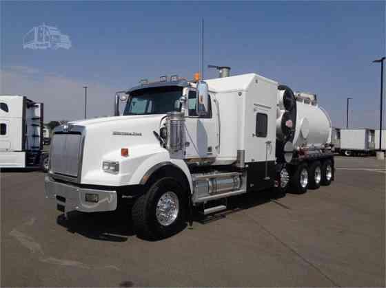 USED 2016 WESTERN STAR 4900SA Vacuum Truck Denver