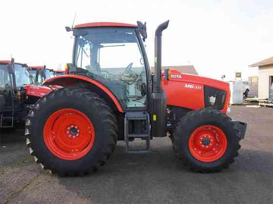 USED 2018 KUBOTA M6-111 Tractor Albany, Oregon