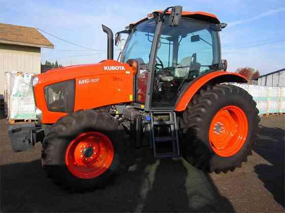 USED 2017 KUBOTA M6-101 Tractor Albany, Oregon
