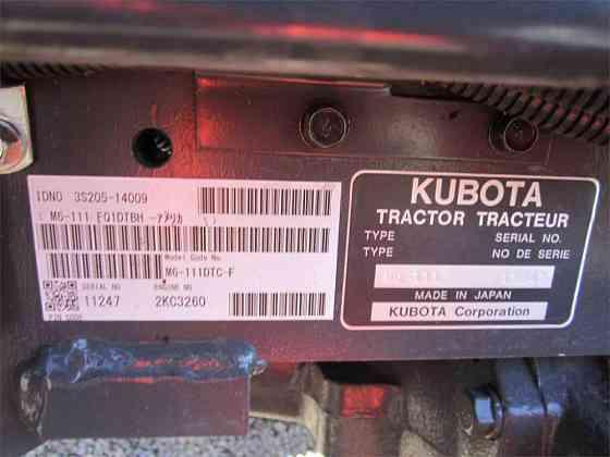 USED 2019 KUBOTA M6-111 Tractor Albany, Oregon