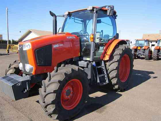 USED 2018 KUBOTA M6-141 Tractor Albany, Oregon