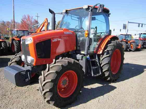 USED 2019 KUBOTA M6-141 Tractor Albany, Oregon
