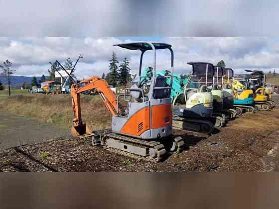 USED 2006 Hitachi ZX17U-2 Excavator Roseburg