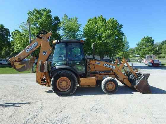 USED 2012 CASE 580SN Backhoe Lancaster, Pennsylvania