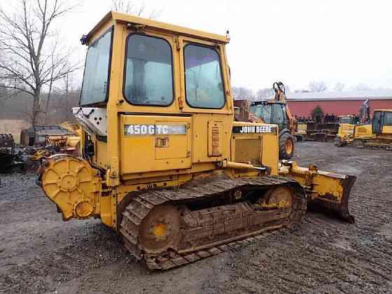 USED 1994 DEERE 450G TC IV Dozer Lancaster, Pennsylvania