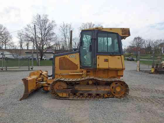 USED 2005 DEERE 550J LT Dozer Lancaster, Pennsylvania