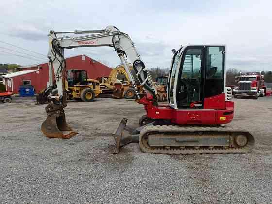 USED 2015 TAKEUCHI TB280FR Excavator Lancaster, Pennsylvania