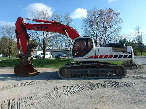 USED 2008 LINK-BELT 330 LX Excavator Lancaster, Pennsylvania