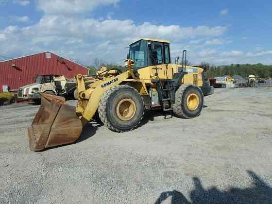 USED 2004 KOMATSU WA400-5 Wheel Loader Lancaster, Pennsylvania