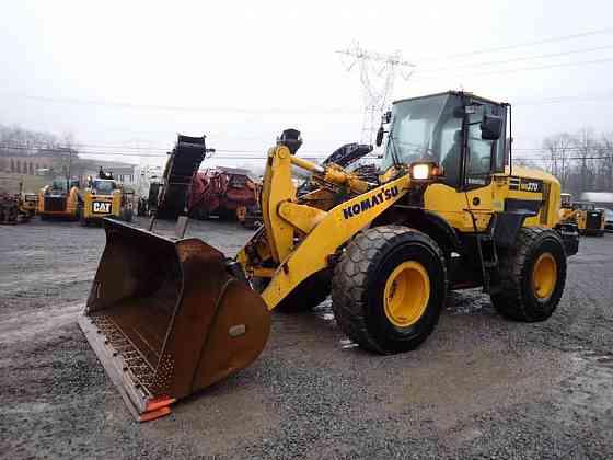 USED 2014 KOMATSU WA270-7 Wheel Loader Lancaster, Pennsylvania