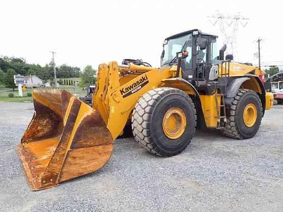 USED 2013 KAWASAKI 95Z7 Wheel Loader Lancaster, Pennsylvania