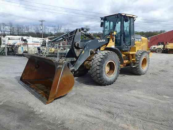 USED 2013 DEERE 544K Wheel Loader Lancaster, Pennsylvania