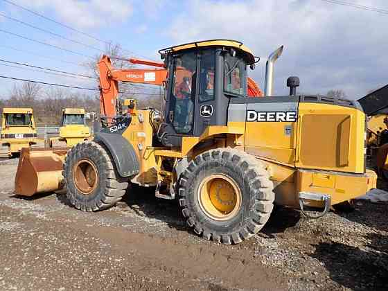 USED 2015 DEERE 524K Wheel Loader Lancaster, Pennsylvania
