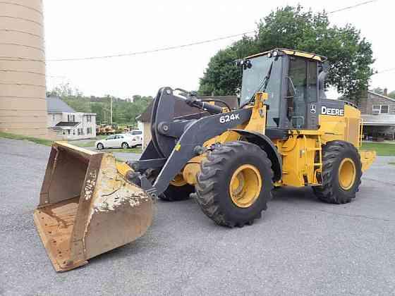 USED 2015 DEERE 624K Wheel Loader Lancaster, Pennsylvania