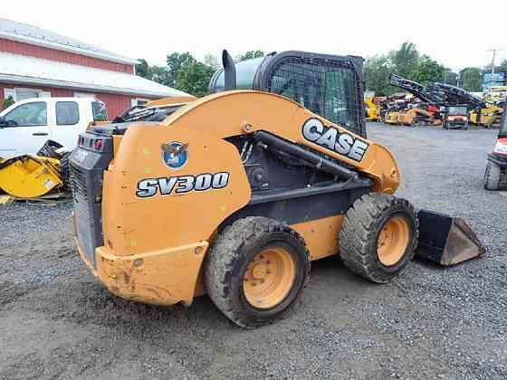 USED 2015 CASE SV300 Skid Steer Lancaster, Pennsylvania