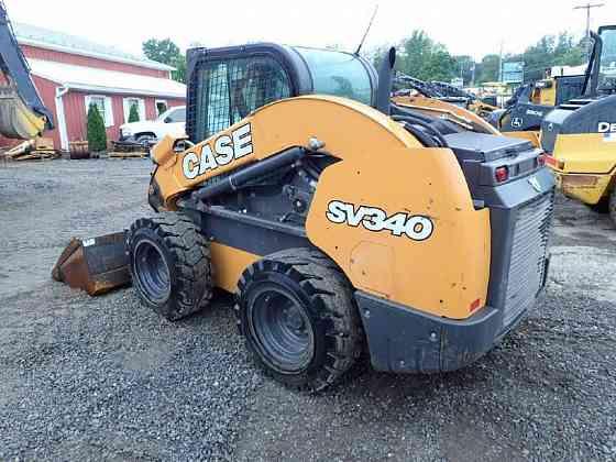 USED 2018 CASE SV340 Skid Steer Lancaster, Pennsylvania