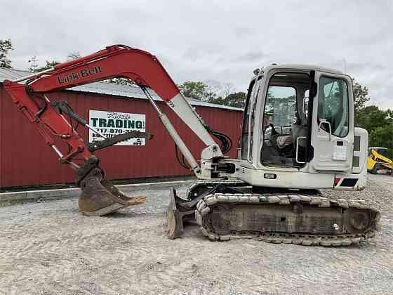 USED 2008 LINK-BELT 80 SPIN ACE Excavator York