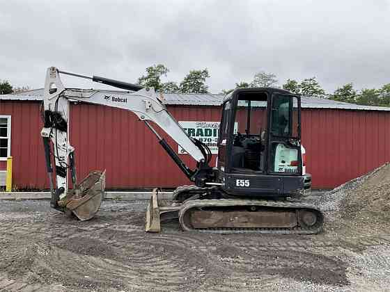 USED 2015 BOBCAT E55 Excavator York