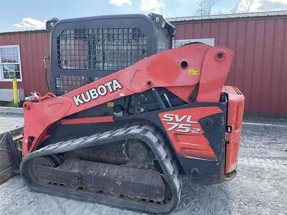 USED 2015 KUBOTA SVL75-2 Skid Steer York
