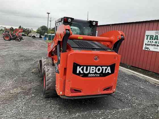 USED 2019 KUBOTA SSV75 Skid Steer York