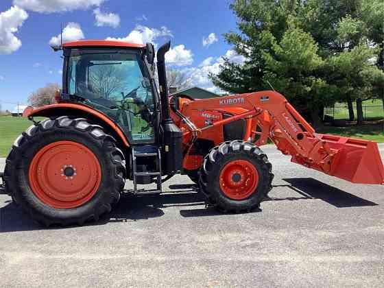 USED 2017 KUBOTA M6-141 Tractor Williamsport