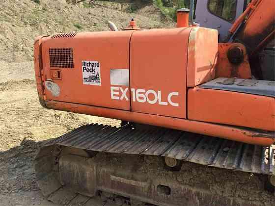 USED 1999 HITACHI EX160 LC-5 Excavator Williamsport