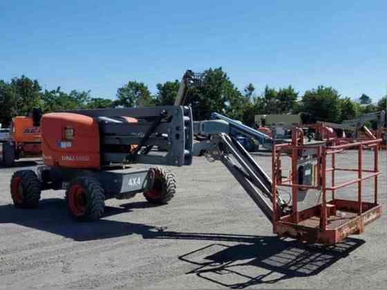 USED 2012 SkyJack SJ46AJ Boom Lift Bristol, Pennsylvania
