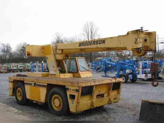 USED 2007 Broderson IC80-3G Crane Bristol, Pennsylvania