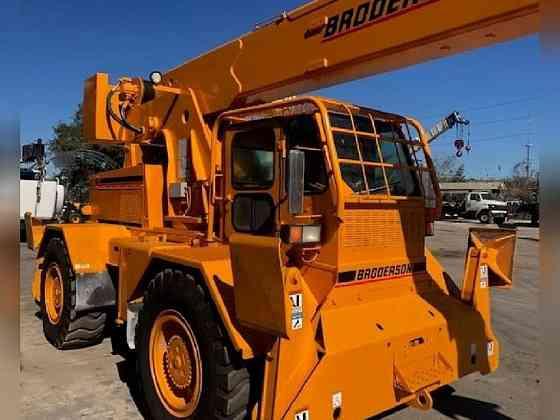 USED 2013 Broderson RT300-2D Crane Bristol, Pennsylvania