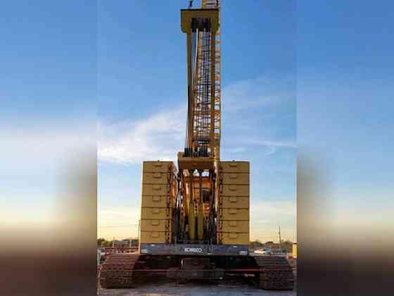 USED 2008 Kobelco CK2500-II Crane Bristol, Pennsylvania