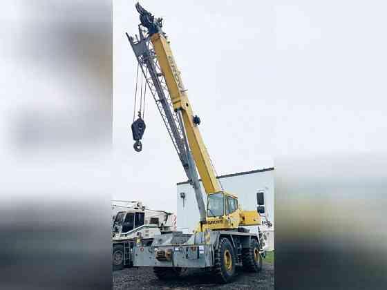 USED 2002 Grove RT650E Crane Bristol, Pennsylvania