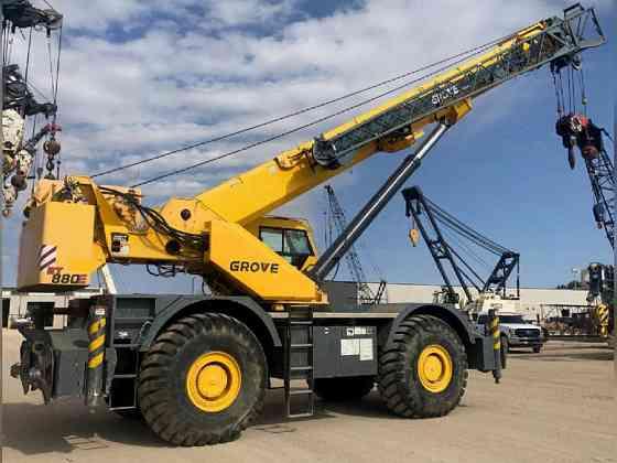 USED 2011 Grove RT880E Crane Bristol, Pennsylvania