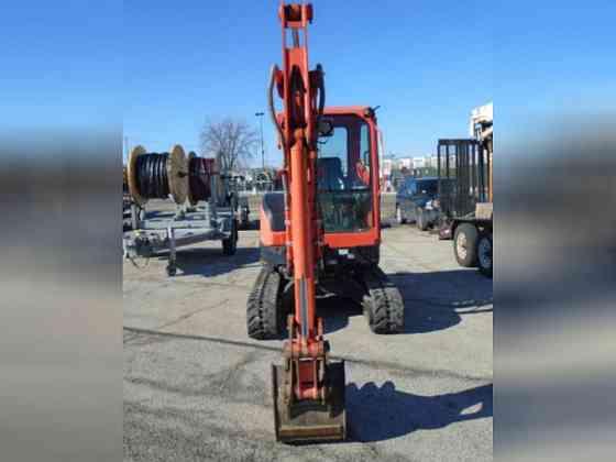 USED 2015 Kubota KX91 Excavator Bristol, Pennsylvania