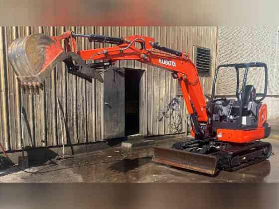 USED 2017 Kubota KX040 Excavator Bristol, Pennsylvania