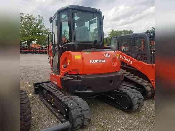USED 2020 Kubota U55-4 Excavator Bristol, Pennsylvania