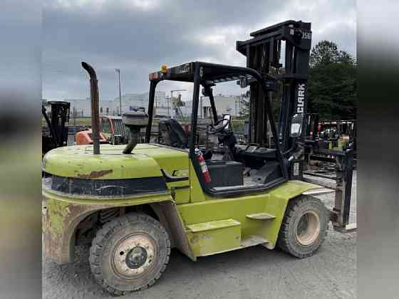 USED 2014 Clark C70 Forklift Bristol, Pennsylvania