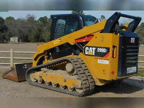 USED 2016 Caterpillar 299D2 Skid Steer Bristol, Pennsylvania