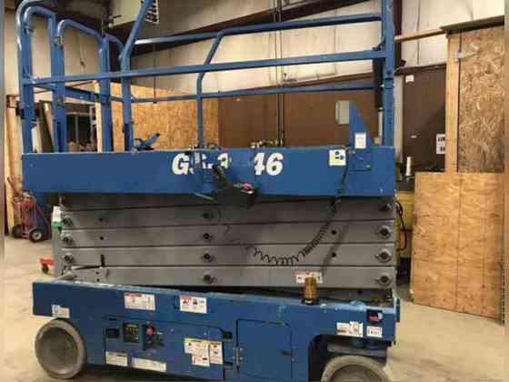 USED 2014 Genie GS3246 Scissor Lift Bristol, Pennsylvania