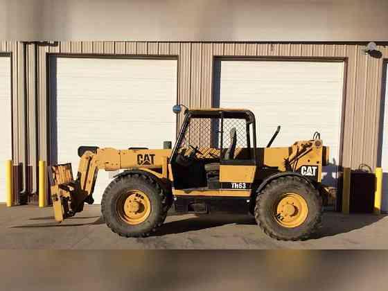 USED 2002 Caterpillar TH63 Telehandler Bristol, Pennsylvania