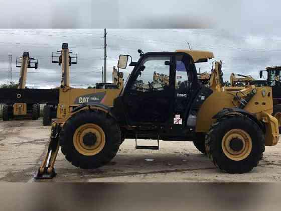USED 2014 Caterpillar TH514 Telehandler Bristol, Pennsylvania