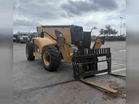 USED 2018 Caterpillar TL1255D Telehandler Bristol, Pennsylvania